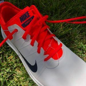 Women's Nike golf shoe white
